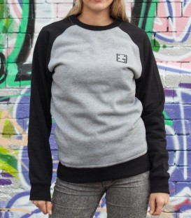 "Sweater ""Premium"" KMII Unisex grey-black"
