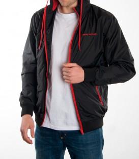 Jacket CONTRAST Men black/red