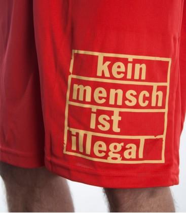 Shorts Kein Mensch ist illegal Men