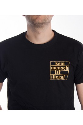 T-Shirt - Kein Mensch ist Illegal -  Men