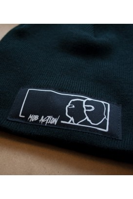 Beanie Mob Action black