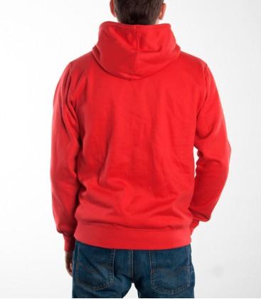 Zip- Hoodie RAISED FIST Men (Red)