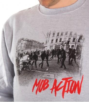 Sweater Antifa Teenage Riot Men grey