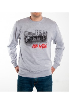 Sweater Antifa Teenage Riot Men grey