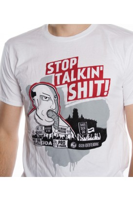 T-Shirt - STOP TALKIN' SHIT