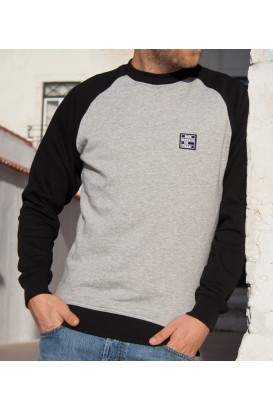 "Sweater ""Premium"" KMII grey-black"