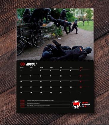 Antifa Wandkalender 2018