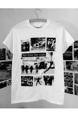 T-Shirt No Love For Cops