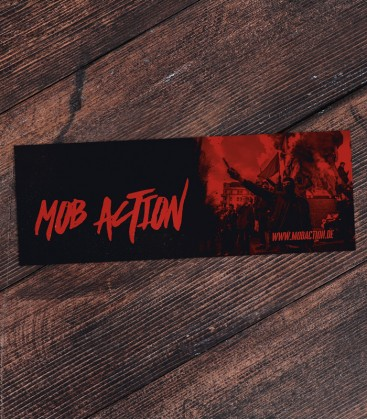Mob Action Red/Black - 30 Sticker Set