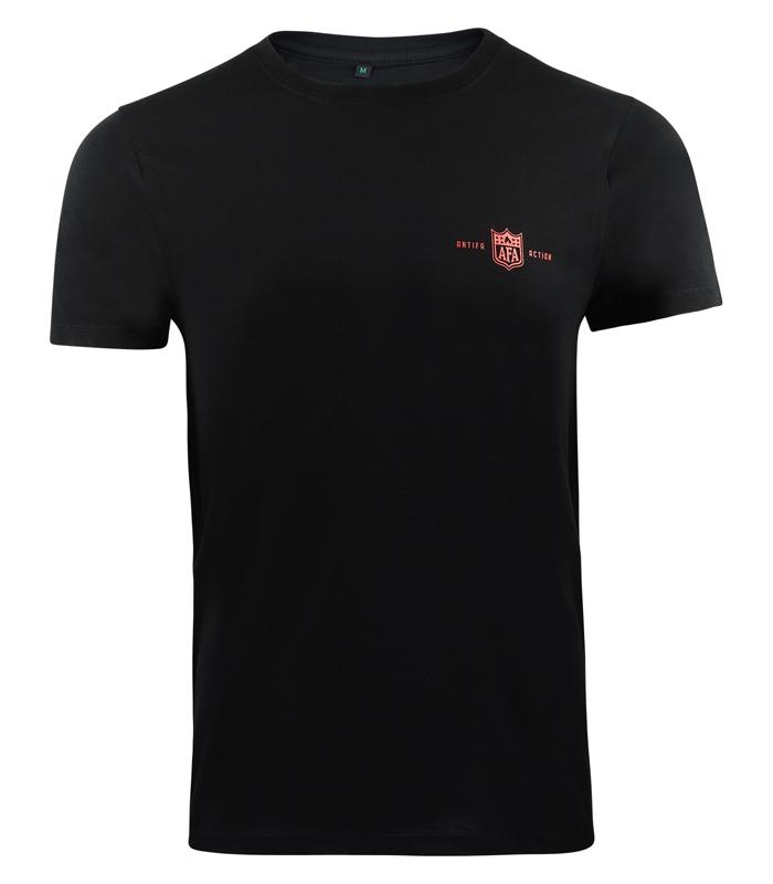 fc083a3d9be93b T-Shirt AFA Red (Black) - Mob Action
