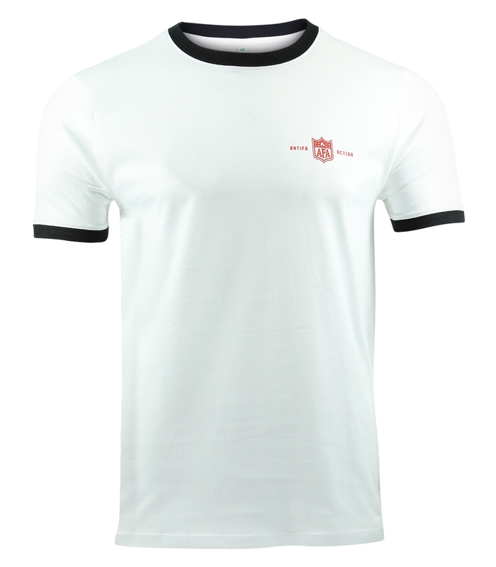 b41973d64b5d29 T-Shirt - AFA Red - White - Mob Action