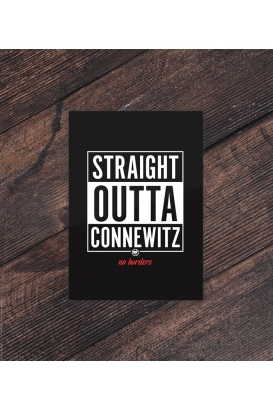 Postkarte - Straight Outta Connewitz