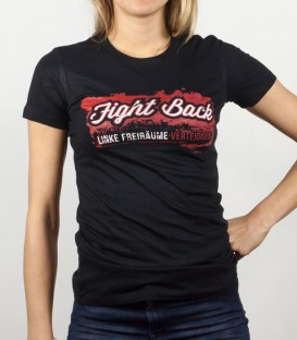 T-Shirt Linke Freiräume verteidigen Women