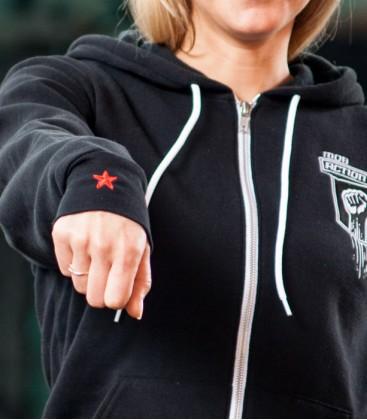 Zip- Hoodie Raised Fist Women