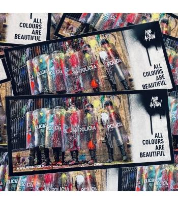 Sticker und Postkarten