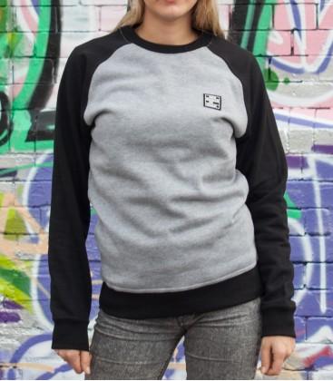 "Sweater ""Premium"" KMII grey-black"