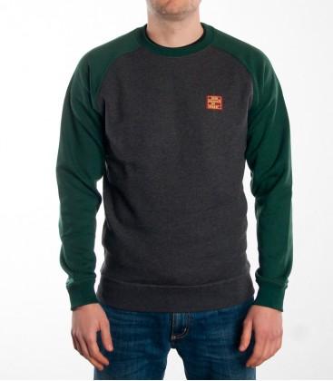 "Sweater ""Premium"" KMII grey-green"