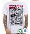 T-Shirt Kein Bock auf Nazis weiß