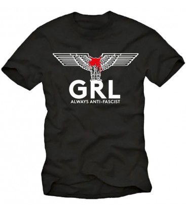 T-Shirt GRL – Always Antifascist