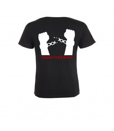 "Soli-T-Shirt NoG20 ""United we stand"" tailliert"