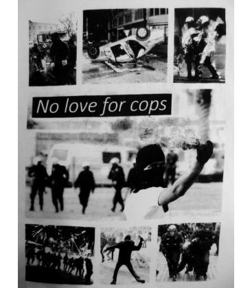 T-Shirt No Love For Cops