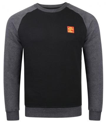 Sweater - Kein Mensch ist illegalI - black-dark grey