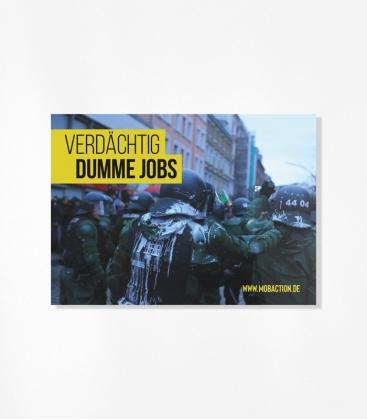 30 Sticker - Verdächtig Dumme Jobs