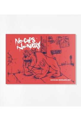 30 Sticker - Das Viertel bleibt dreckig