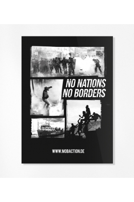 30 Sticker - No Nations. No Borders