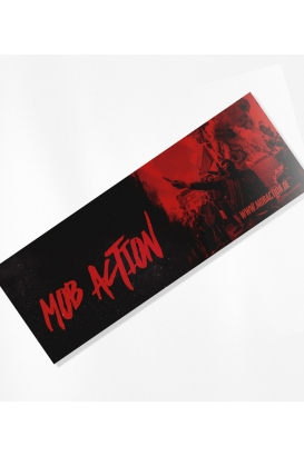 30 Sticker - MA - Red/Black