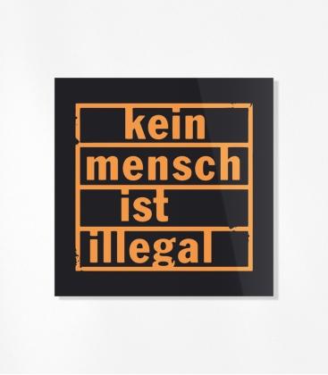 Kein Mensch ist illegal - 30 Sticker Set