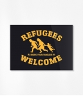 Sticker - Refugees Welcome (30 Stück)