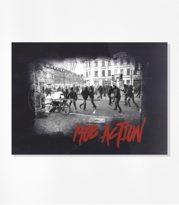 """Riots"" 30 Aufkleber"