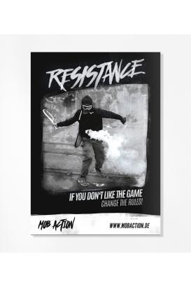 30 Sticker - Resistance