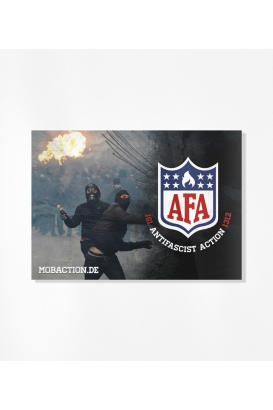 30 Sticker - AFA Molotov