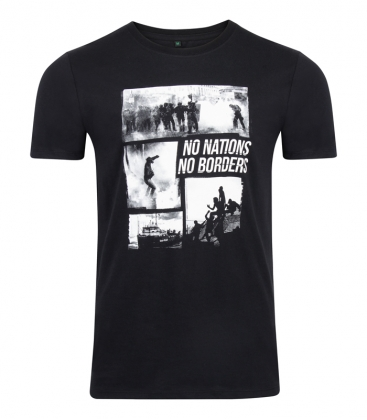T-Shirt No Nations No Borders