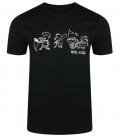 Riot Pigs - Shirt - schwarz