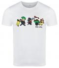 Riot Pigs - T-Shirt - weiß