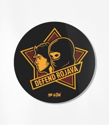 Defend Rojava - 30 Sticker