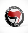 Antifaschistische Aktion - Button