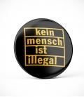 Kein Mensch ist illegal - Button