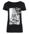 T-Shirt - Die Rechten zu Boden - tailliert
