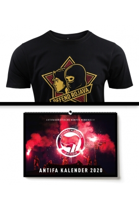 Antifa Kalender T-Shirt Bundle
