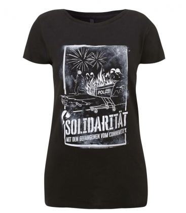 Soli-Shirt - Connewitz Kreuz - tailliert