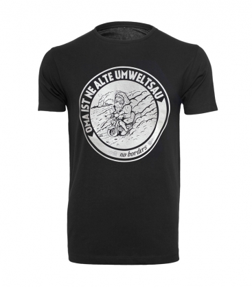 T-Shirt - Oma ist ne alte Umweltsau