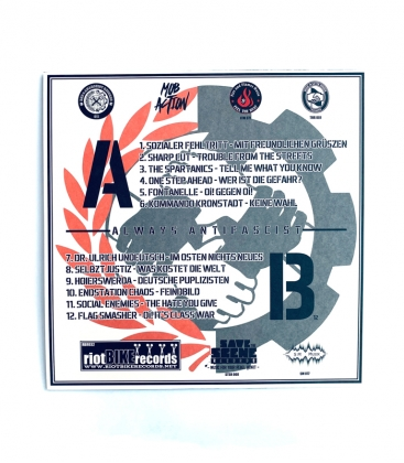 V.A. - Unter dem Deckmantel des Antifaschismus - LP