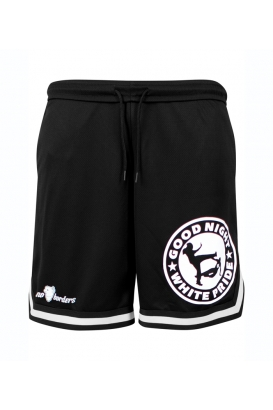 Basketball Shorts Good Night White Pride