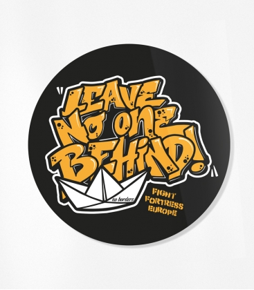 30 Sticker - Leave no one behind