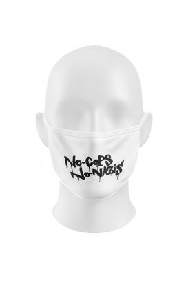 No Cops No Nazis - Gesichtsmaske
