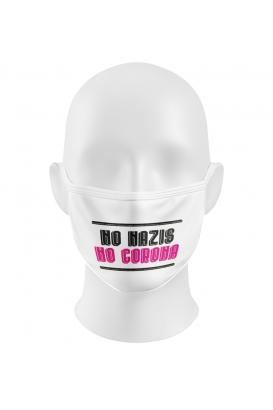 NO NAZIS NO CORONA - Gesichtsmaske